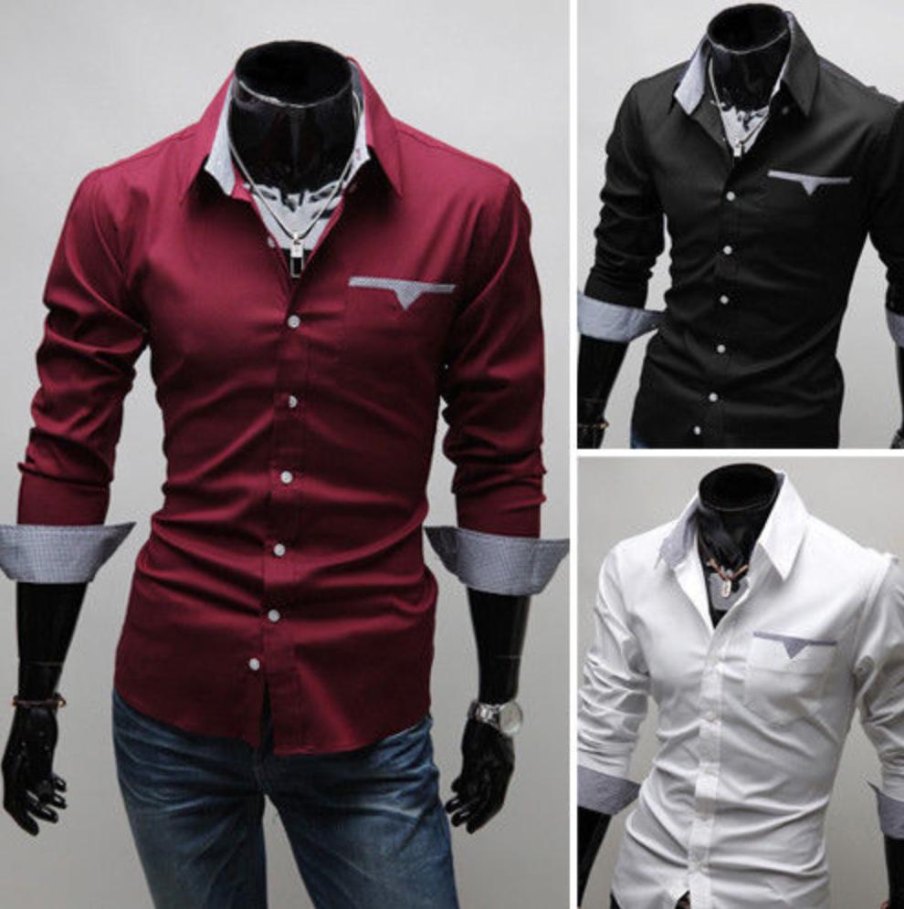 f300490dd91 SLIM FIT pánská košile