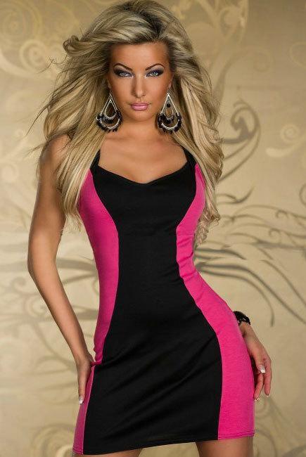 MODERNÍ dámské letní šaty se zipem cfdbf934da1