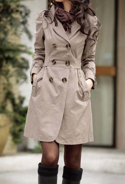 STYLOVÝ dámský kabát 09ddbc091d