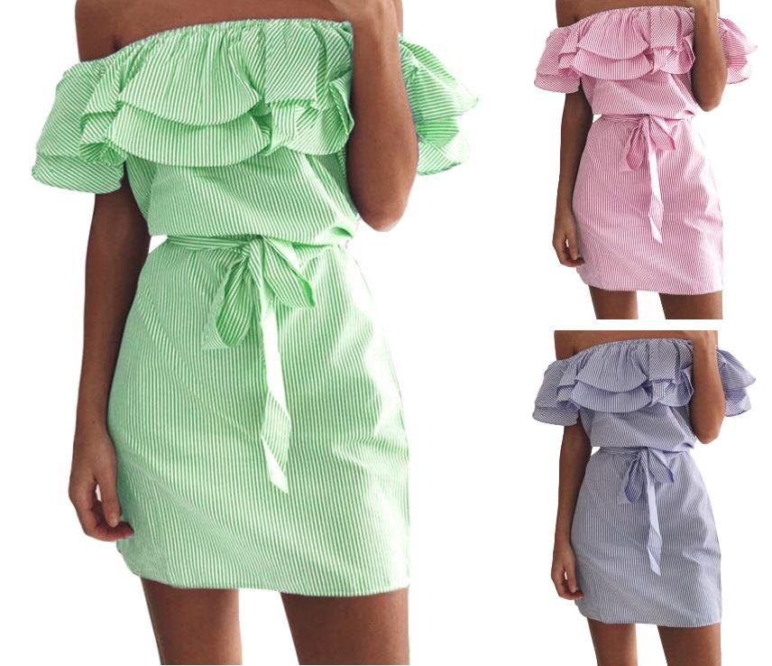 MINI dámské šaty bez ramínek 5277bd1b276