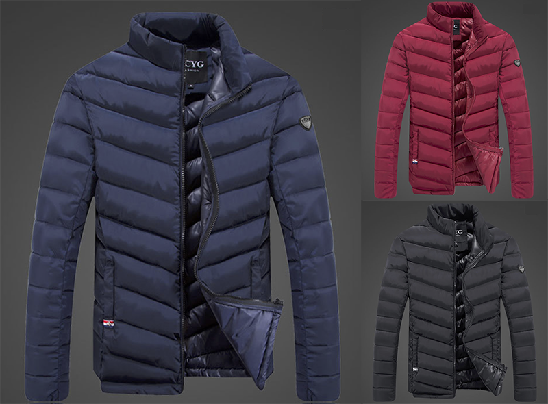 ELEGANTNÍ zimní pánská bunda addbd337704