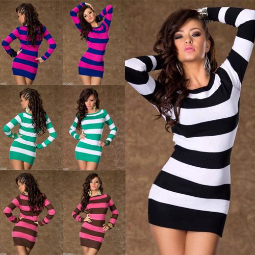 2b34f0b290d JAPAN STYLE dámské šaty svetr